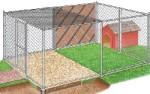 Уютный вольер для собаки